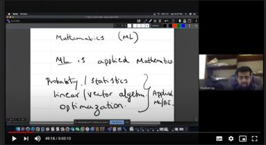 """Webinar  on """"Importance of Mathematics in Machine Learning"""""""